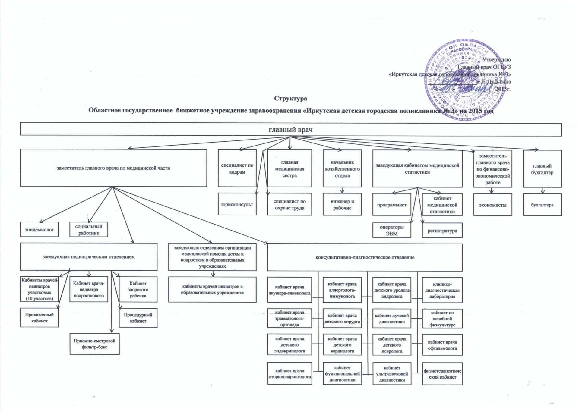 структура поликлиники